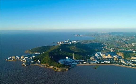 中央广电总台探访中国最大的核电基地--秦山核电站