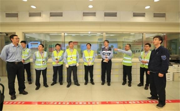 刘华赴中核集团在闽核电:提高政治站位 始终把核安全放在首位