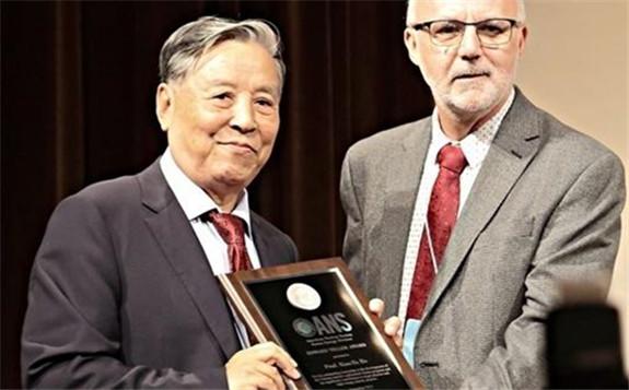 82岁院士获世界核聚变能源最高奖爱德华泰勒奖