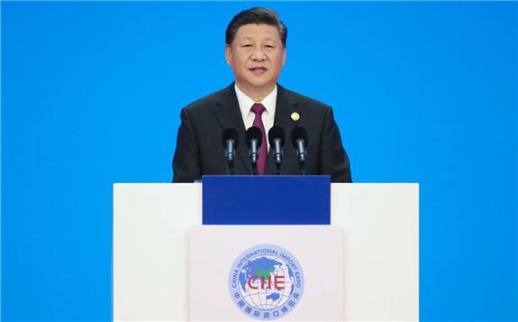 国家主席习近平发表题为《开放合作命运与共》的主旨演讲
