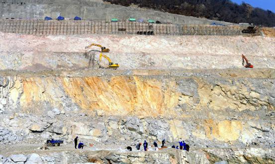 田湾核电站四期工程(7、8号机组)核岛负挖工程正式开始