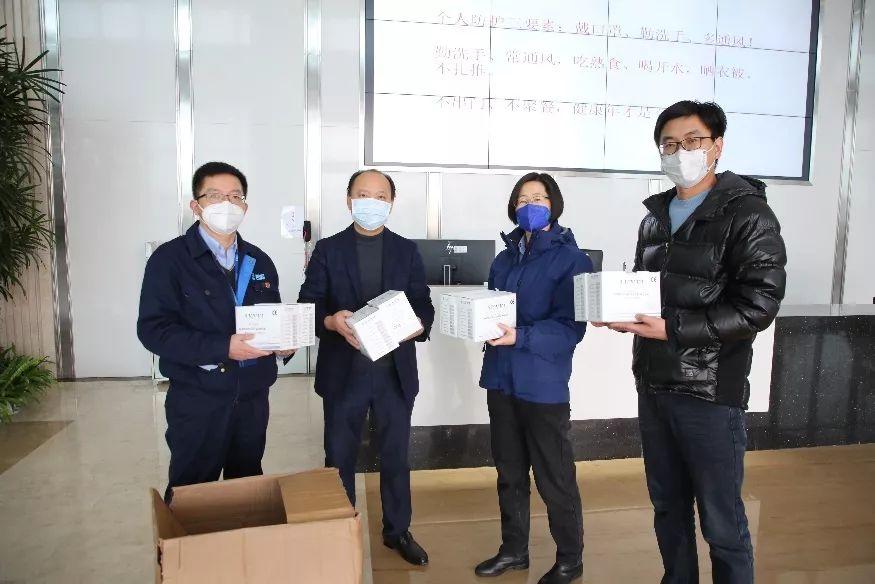 太平洋财产保险浙江省分公司向秦山核电捐赠口罩