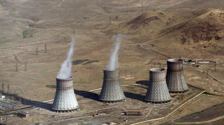亚美尼亚2019年核能发电占比增加