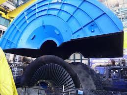 巴基斯坦卡拉奇核电站K2常规岛合缸完成