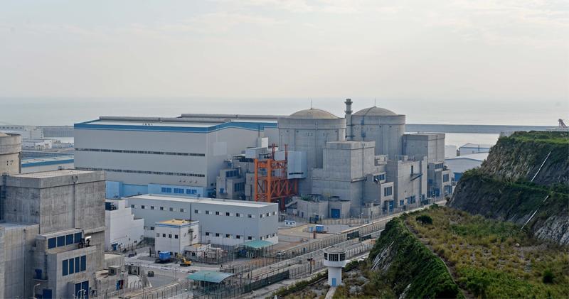 陽江核電廠因海洋生物導致停堆事件