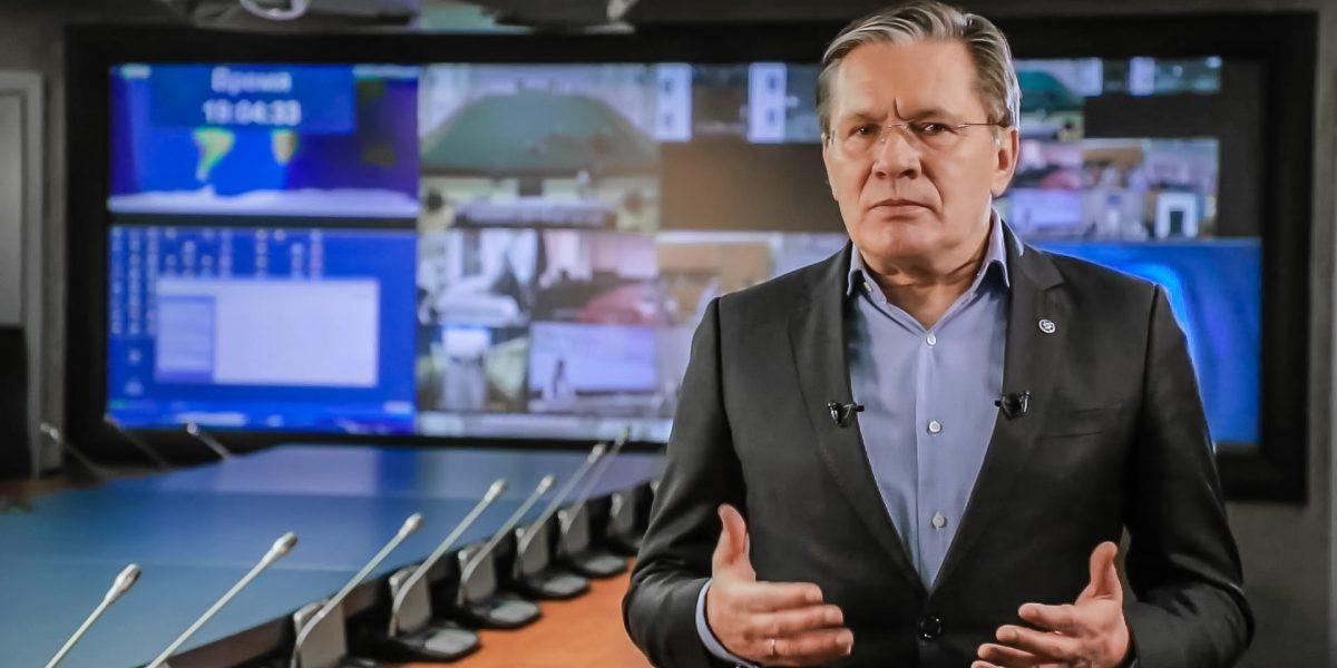 Rosatom首席执行官Alexei Likhachev:已在核电站内建立了全范围的健康检查和卫生设施