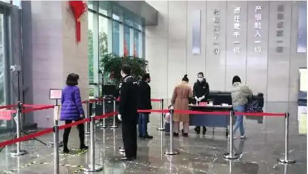 中核二二武汉总部经过消杀之后正式复工