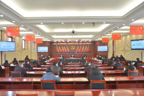 中国核工业二四建设有限公司一季度绩效考核会:从现在开始 行动起来 推动公司向更高层次发展