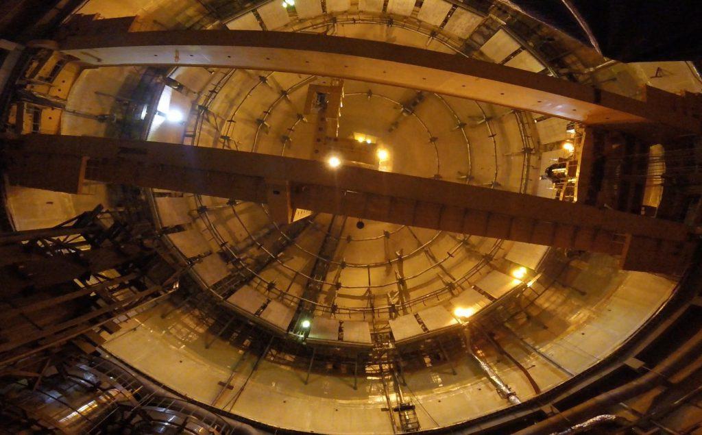俄罗斯列宁格勒2号(Leningrad II)核电站2号机组核岛完成建设
