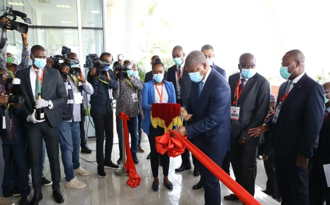 中核集团硬核技术获点赞!安哥拉总统为该国国家地质研究所揭幕