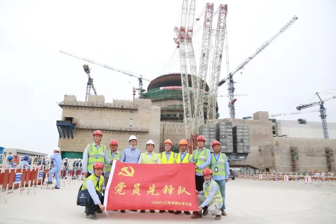 福清核电党员先锋,一抹亮丽的红