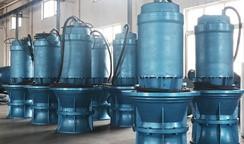 依靠科技实施雨水污水治理,防汛重器潜水轴流泵站首当其冲