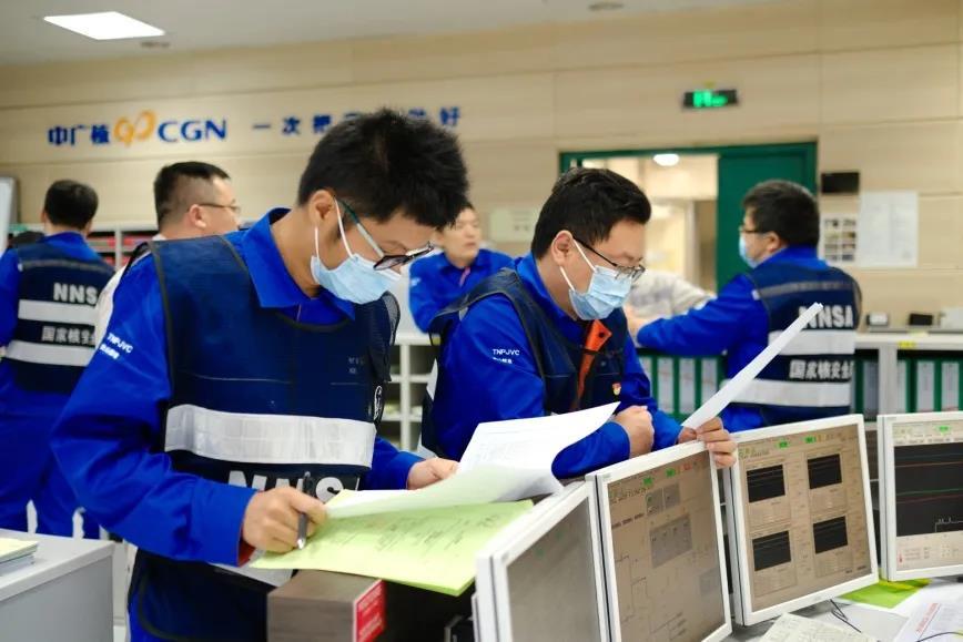 「2020年9月14日」台山核电厂1号机组第一次换料大修后首次临界控制点完成释放