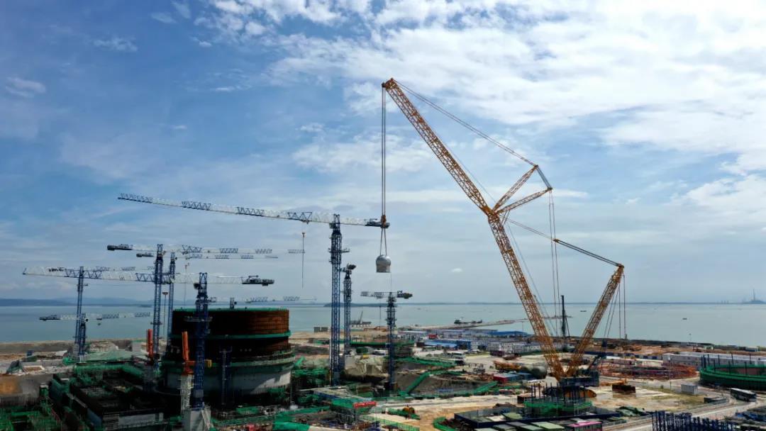 漳州核电1号机组3台安注箱引入工作顺利完成