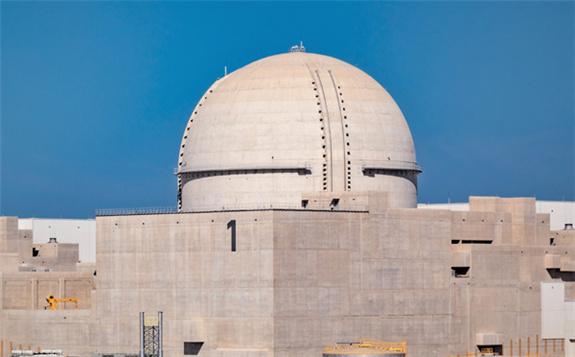 阿联酋巴拉卡(Barakah)核电站1号机组反应堆发电能力达到50%