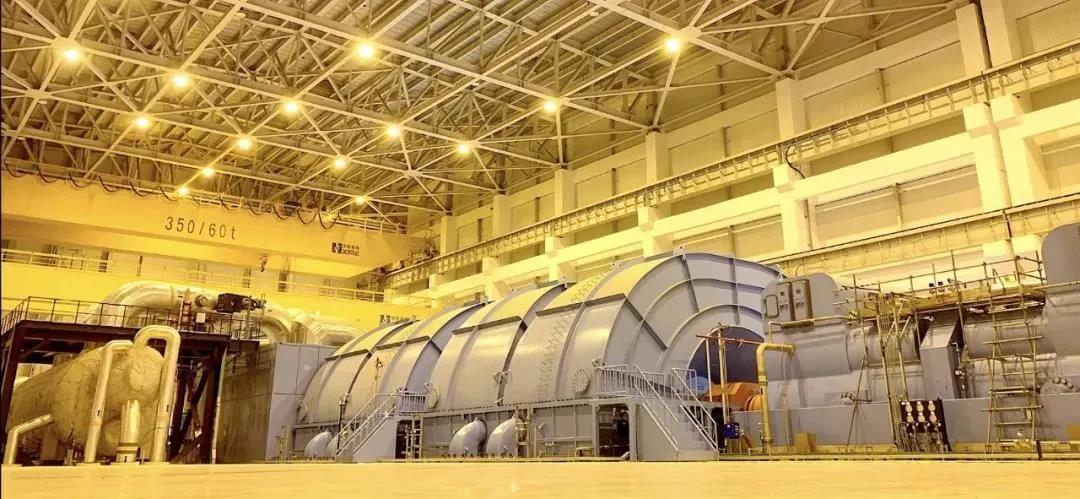 「2020年11月20日」华龙一号全球首堆汽轮发电机组首次核蒸汽冲转成功