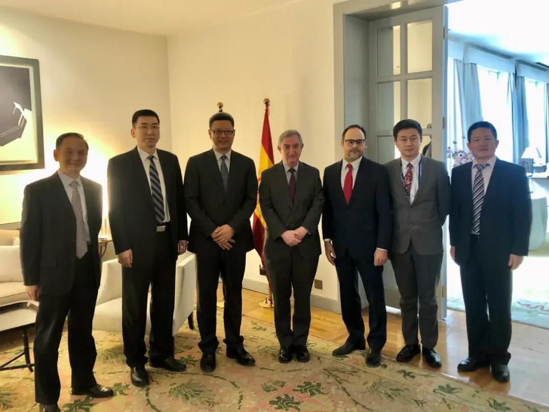 钱智民会见西班牙驻华大使 双方就中西核能等议题深入交换意见