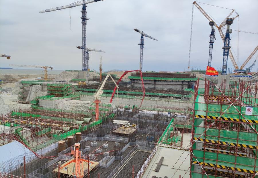 「2020年12月18日」中核二四完成华龙一号漳州核电2号机组常规岛主厂房FCD