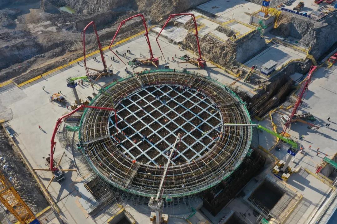 「2020年12月31日」浙江三澳核电项目1号机组主体工程开工!
